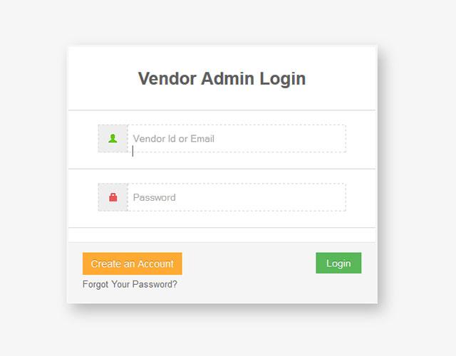 Vendor Register