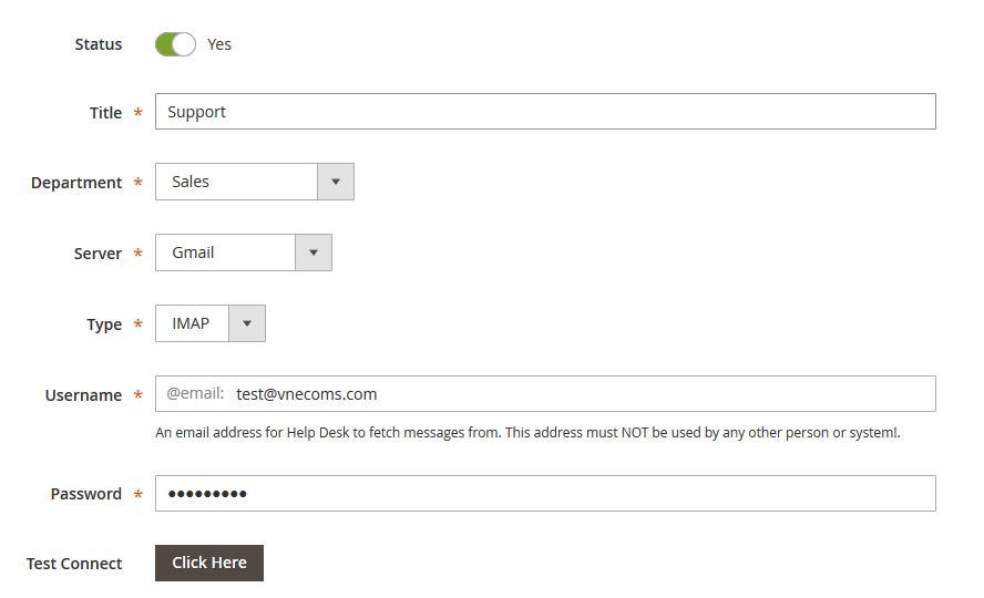 Manage Email Gateways