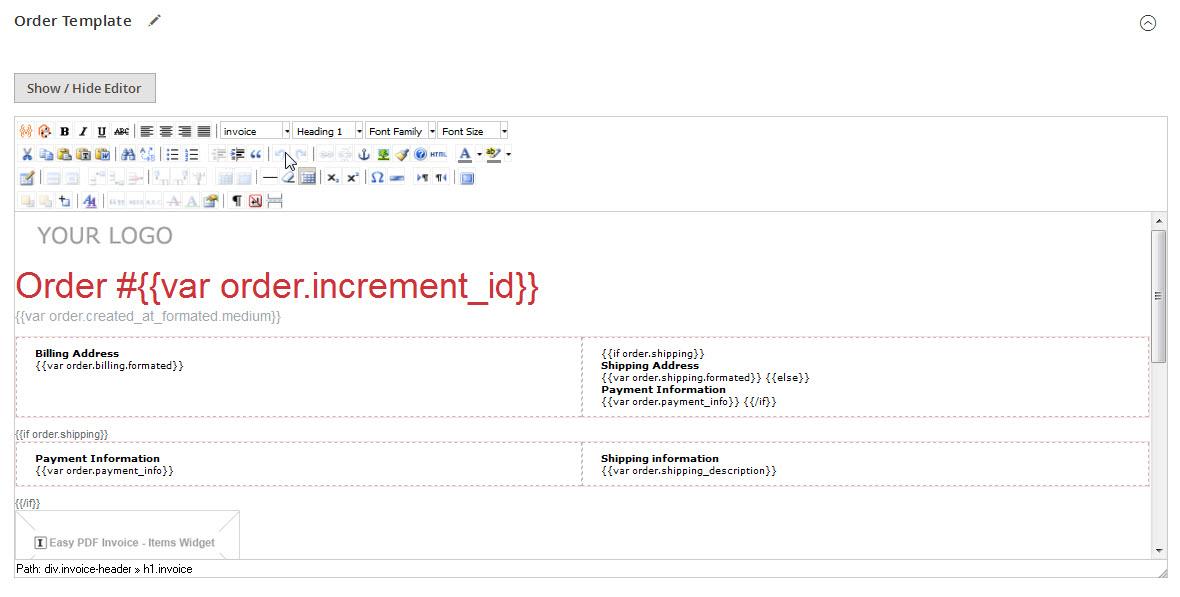pdf invoice pro magento 2 extension | magento2 pdf, Invoice examples